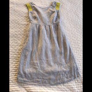 J. Crew Linen Sleeveless Dress